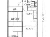 夙川グリーンタウン間取図