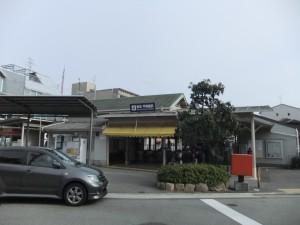 甲陽園駅前