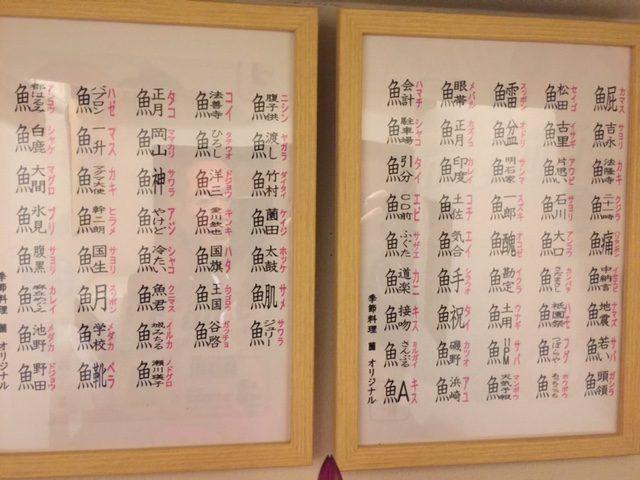 魚 へん の 漢字 一覧