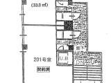 ヴィルトゥー夙川202間取